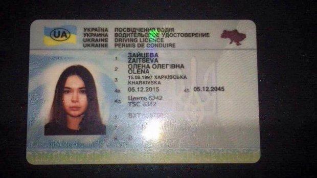 Документы Алены Зайцевой