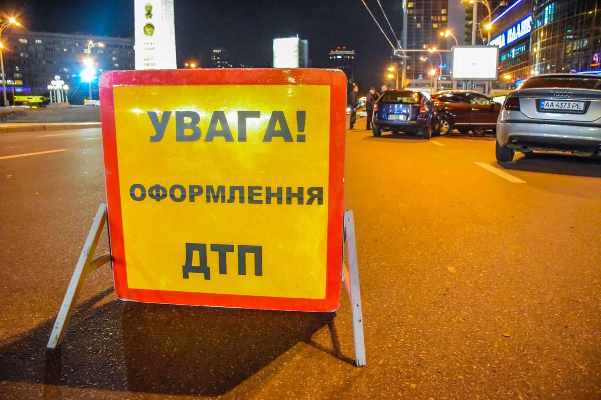 Масштабное ДТП сUber вКиеве: таксист исчез