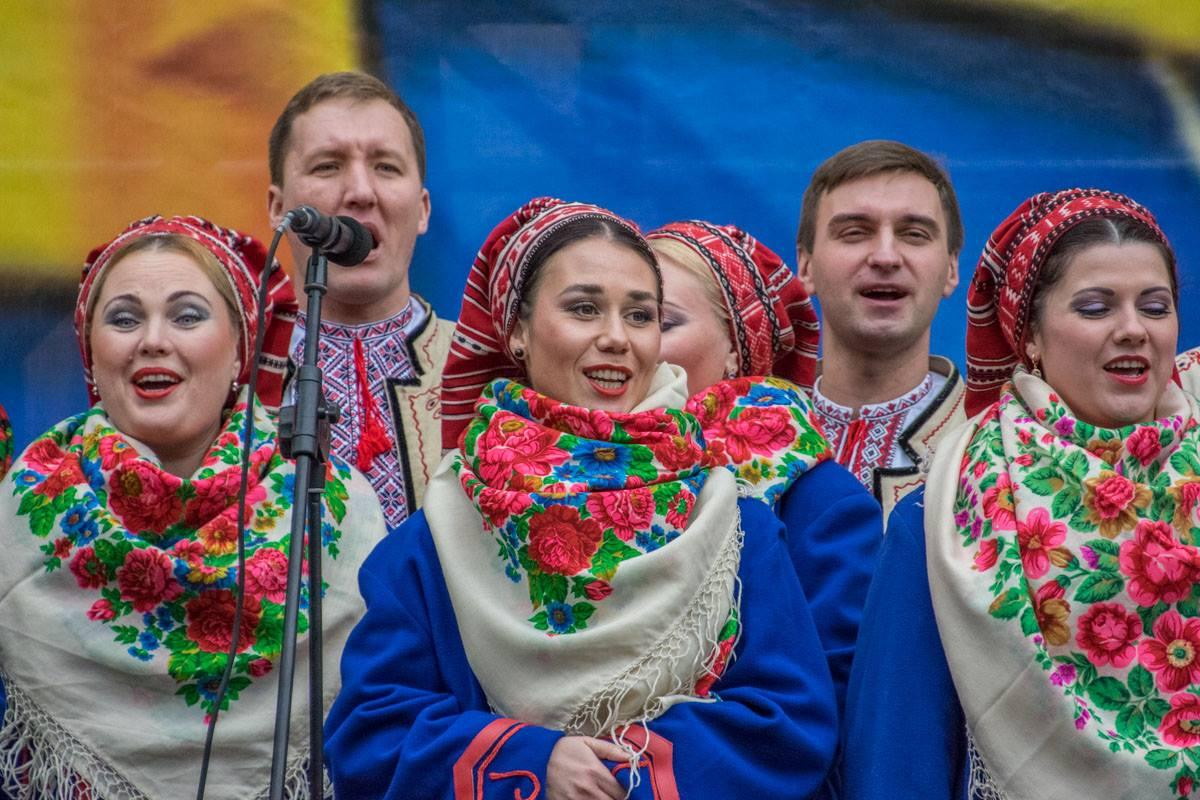 Украинские народые - украинские народные.