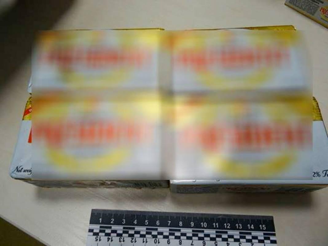 ВКиеве задержали правонарушителей, укравших 19 пачек масла
