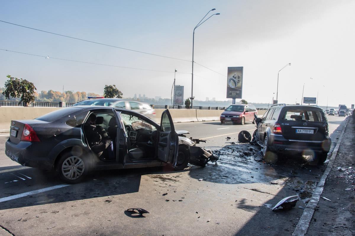 Авария на Набережном шоссе