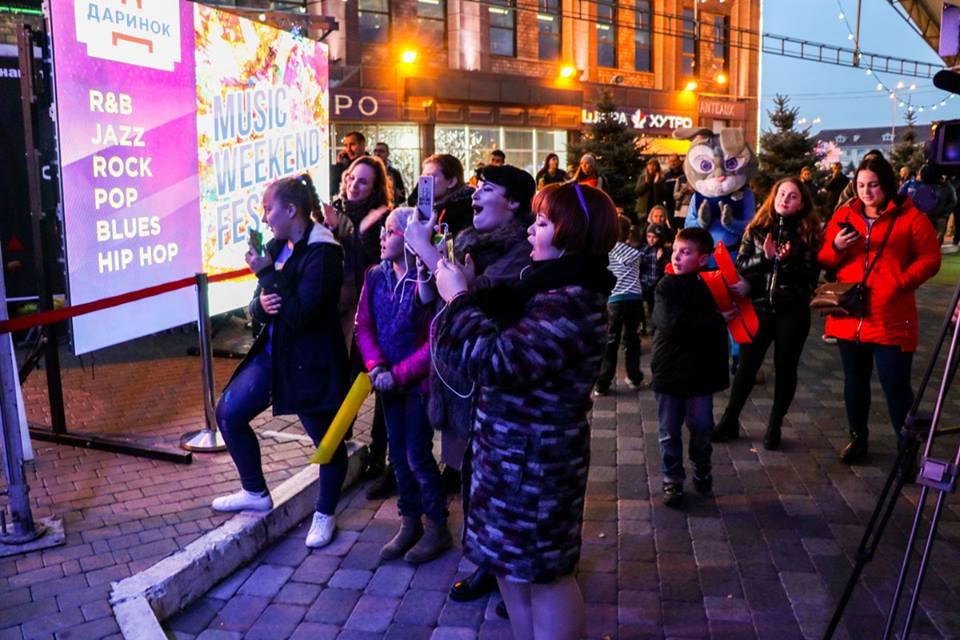 Киевляне посетили первый день фестиваля