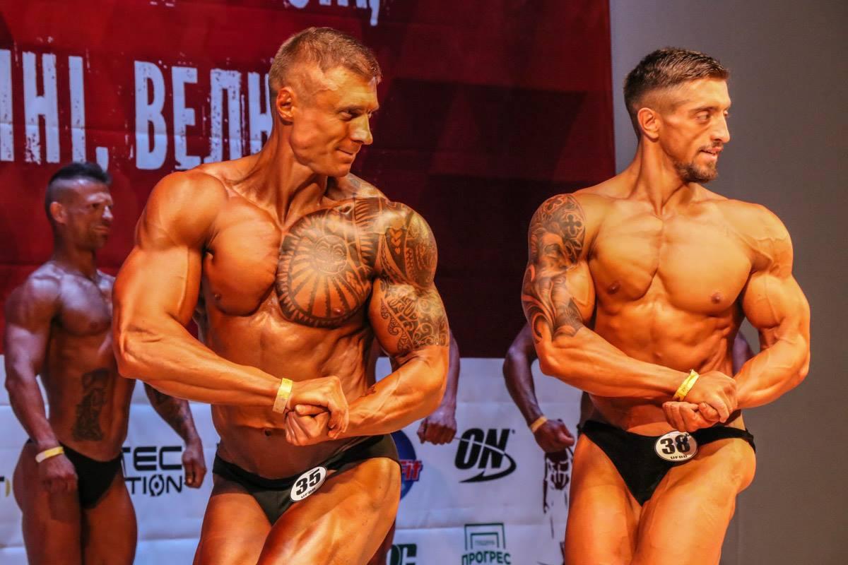 Чемпионат по бодибилдингу проходит в Киеве два раза в год