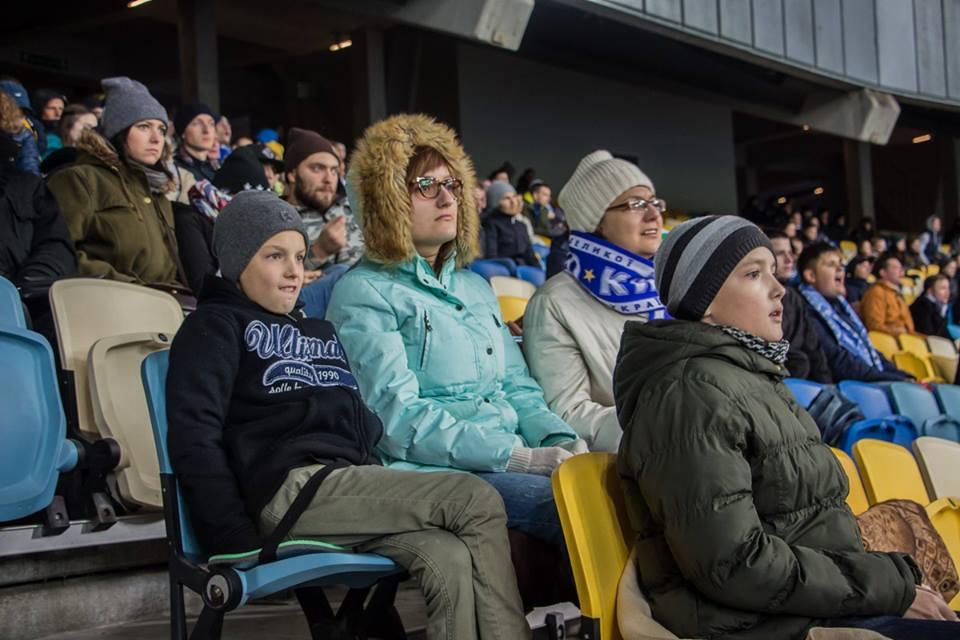 На НСК «Олимпийский» собралось более 38000 фанатов