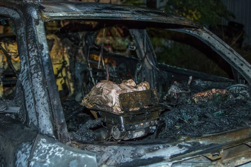 Владелец машины не пострадал