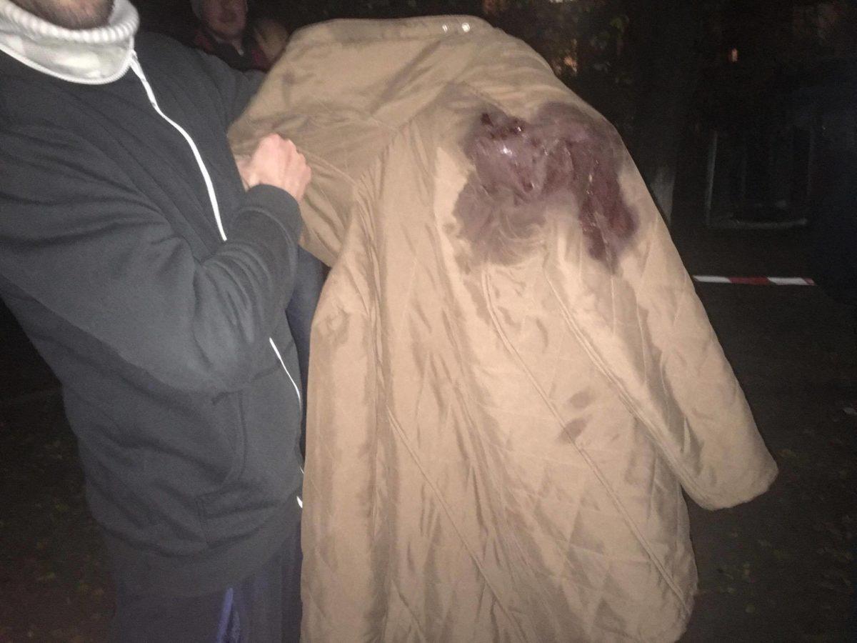 Так выглядят последствия взрыва: на месте было много крови