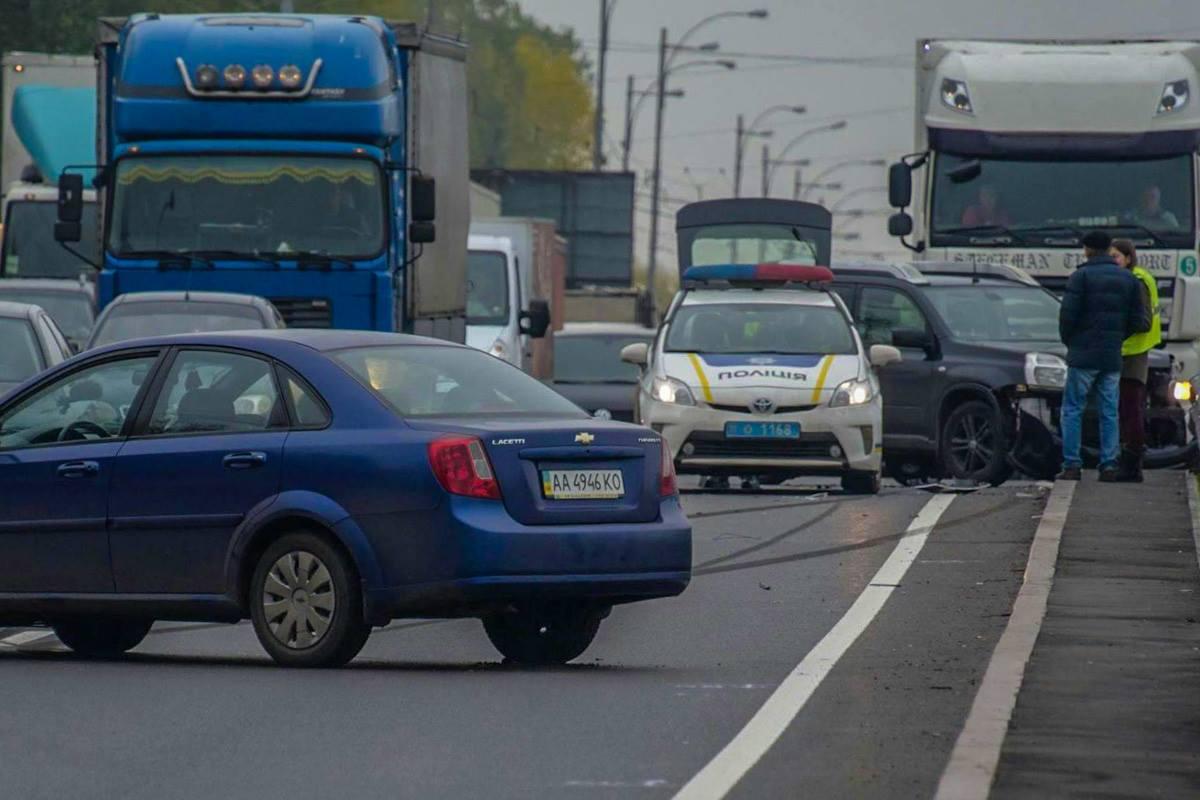 Авария на Большой окружной дороге