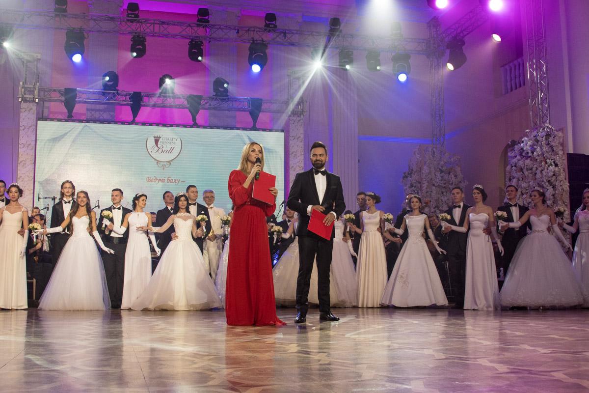 Ведущие вечера: Лилия Ребрик и Тимур Мирошниченко