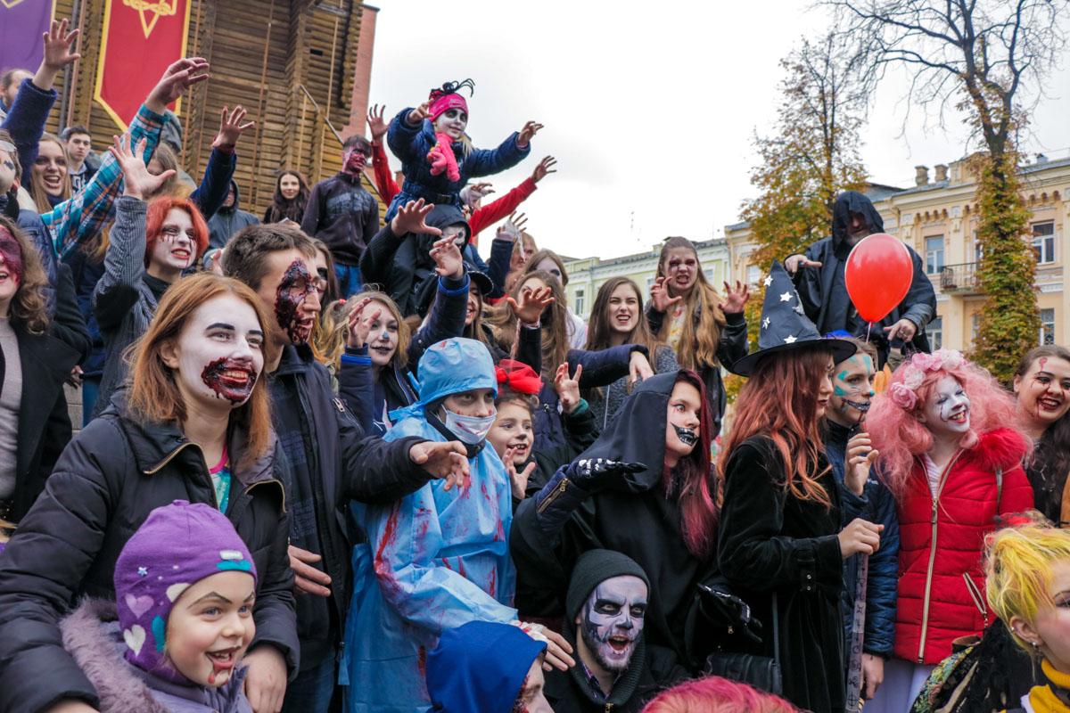 Зомби-парад в Киеве