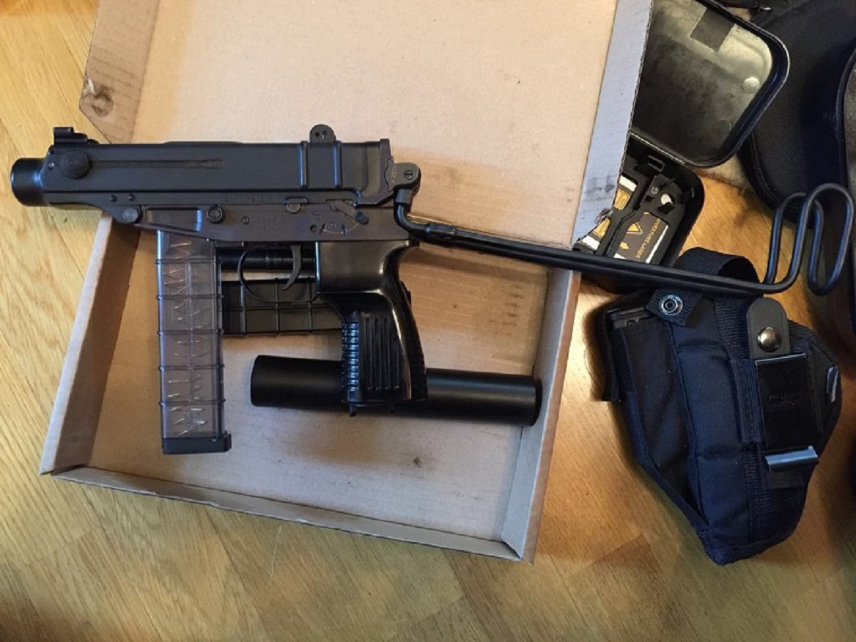 Наквартире вцентре столицы Украины обнаружили арсенал оружия