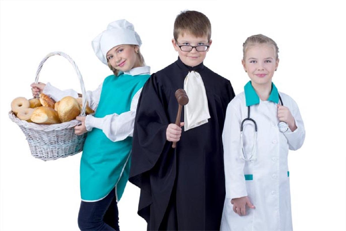 Картинки детей в костюмах разных профессий