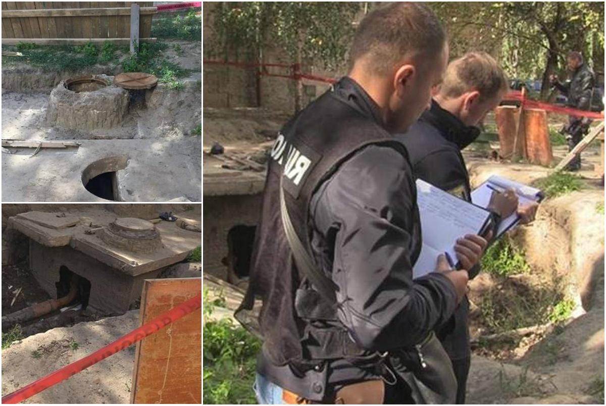 Полиция устанавливала обстоятельства убийства на месте, где нашли мужчину без головы