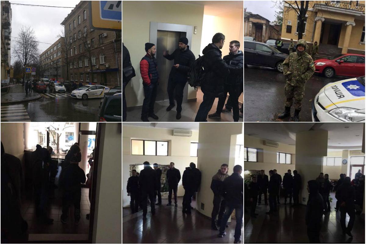 Фотографии с места обыска Александра Авакова в Харькове