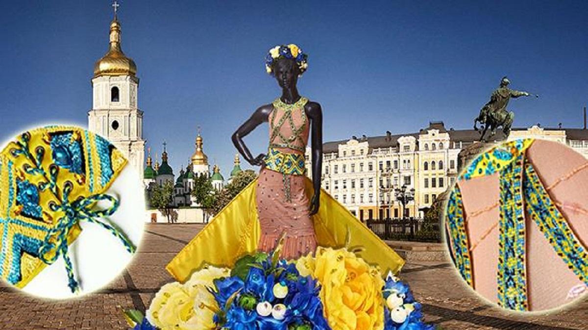 Платье и его детали на конкурс Мисс Вселенная