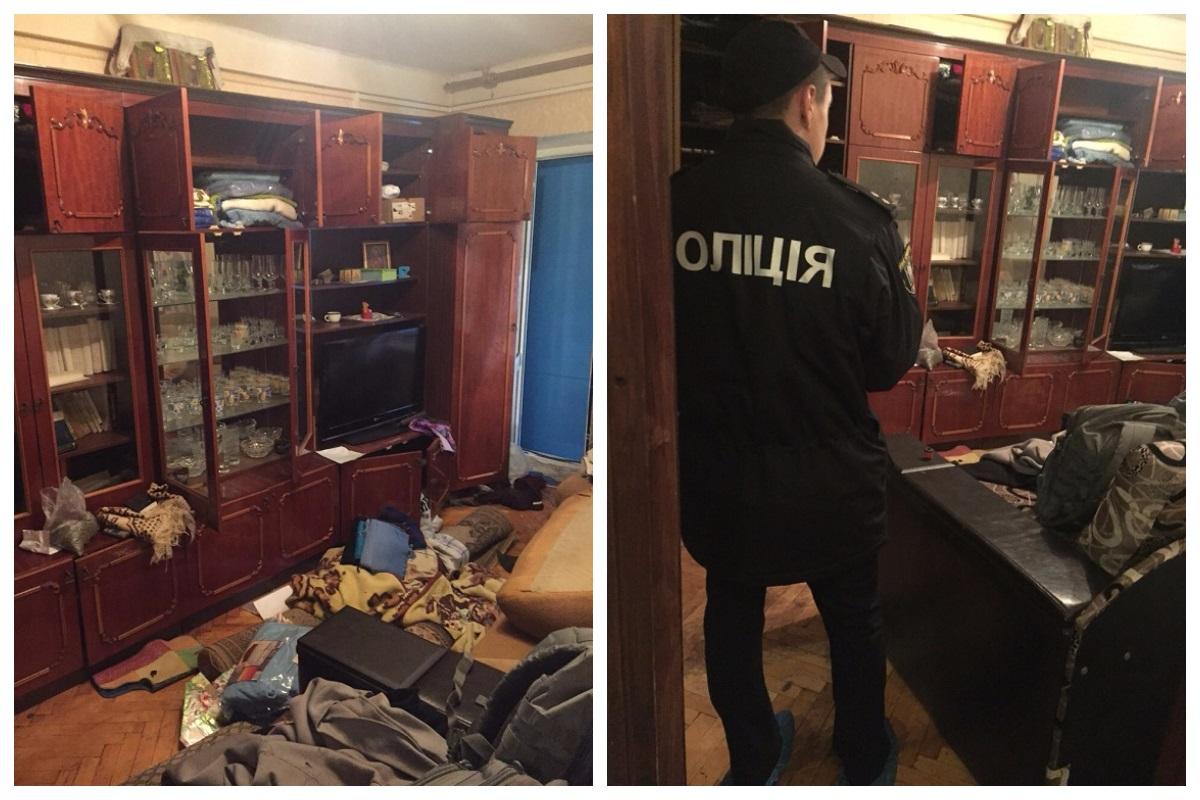 Квартира на Пражской, где погиб мужчина из-за взрыва гранаты