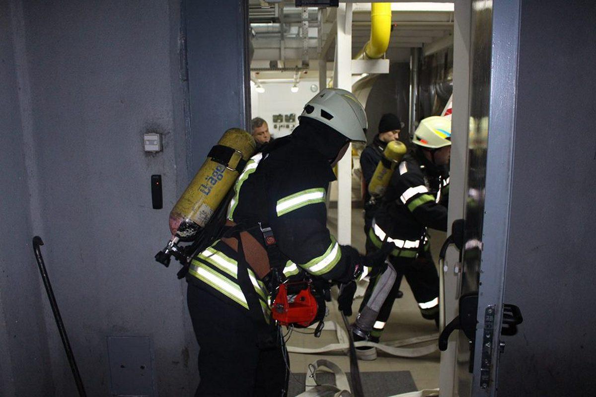 Площадь условного пожара составила 300 метров квадратных