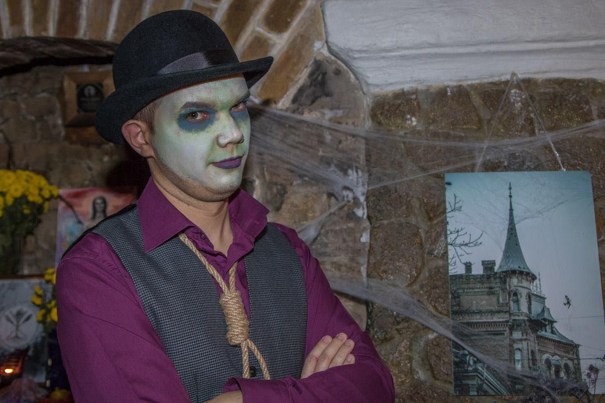 На вечеринку по случаю Хеллоуина собралась всякая нечисть