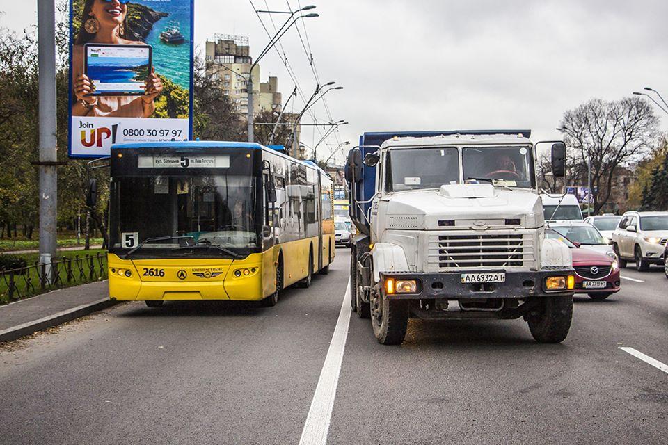 Движение троллейбусов было парализовано