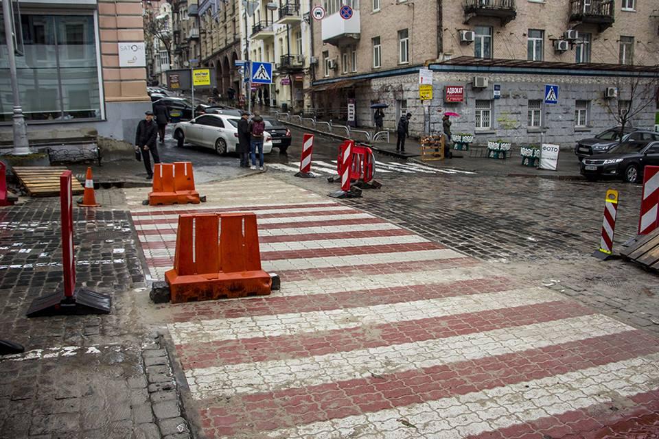 Новый пешеход на Прорезной