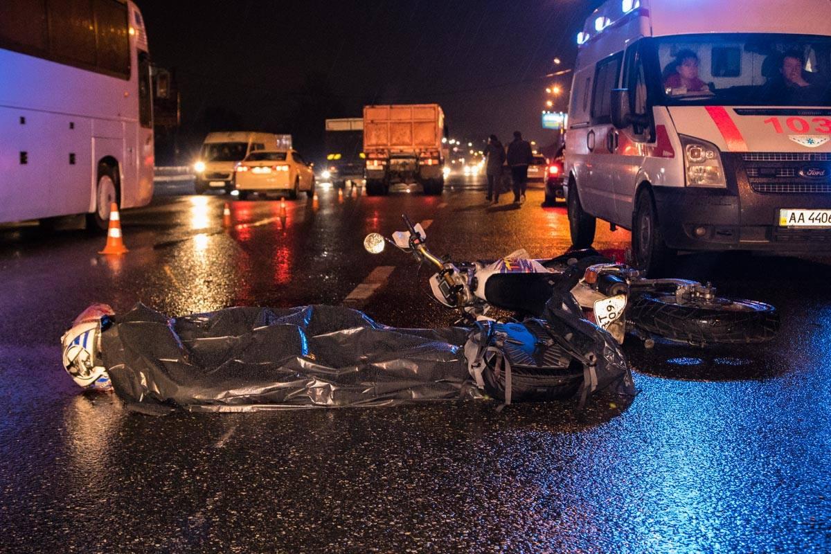 Погибшему мотоциклисту не было 30 лет