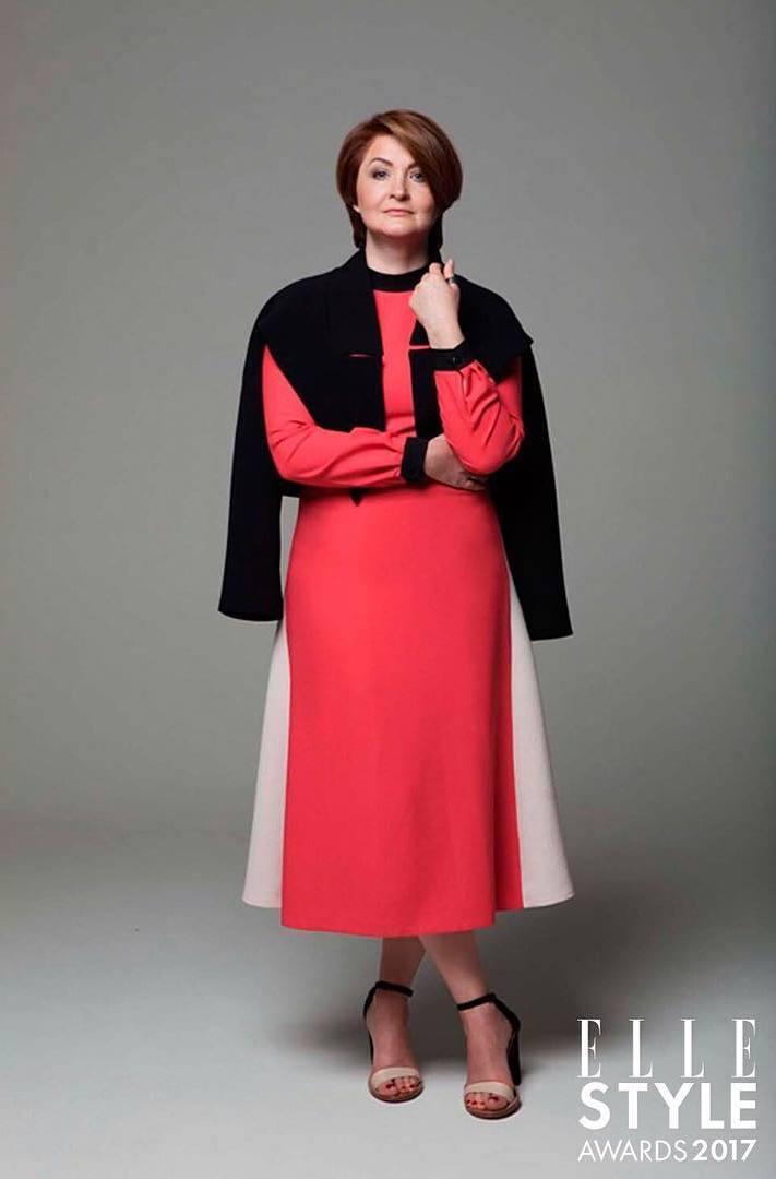 «За особый вклад в развитии украинской моды» - Ирина Данилевская
