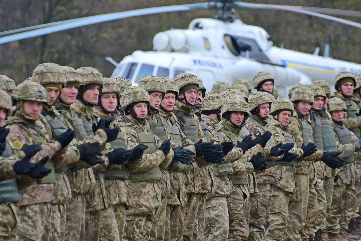 Верные Украине солдаты
