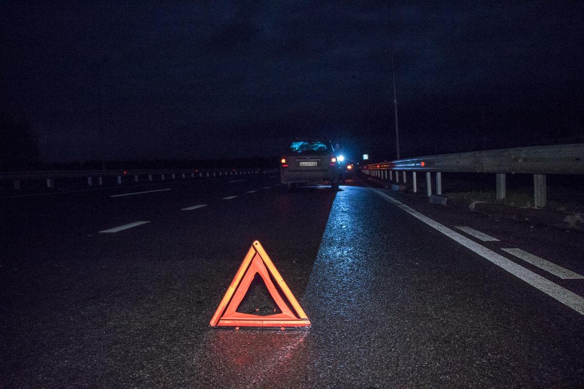 ДТП произошло на Новообуховской трассе