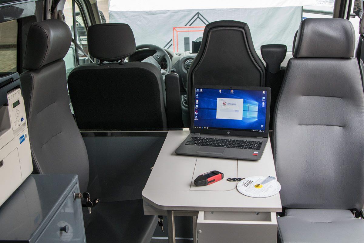 Мобильный офис инспектора
