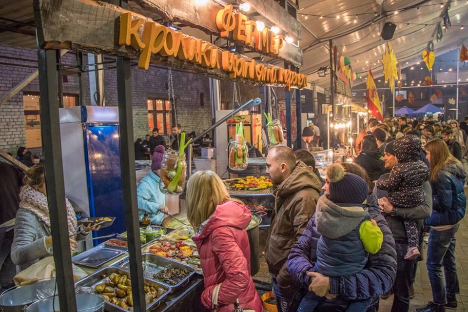 В Киеве прошло закрытие Фестиваля уличной еды