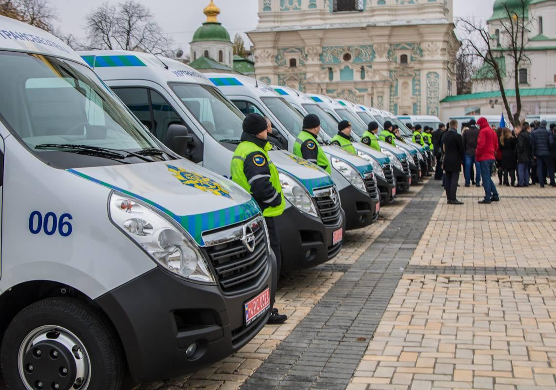 На дороги Украины вышло 26 новых лабораторий