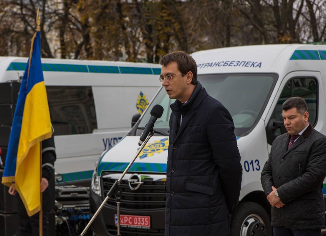 Министр инфраструктуры Владимир Омелян пообещал, что до конца года докупят еще 52 таких комплекса