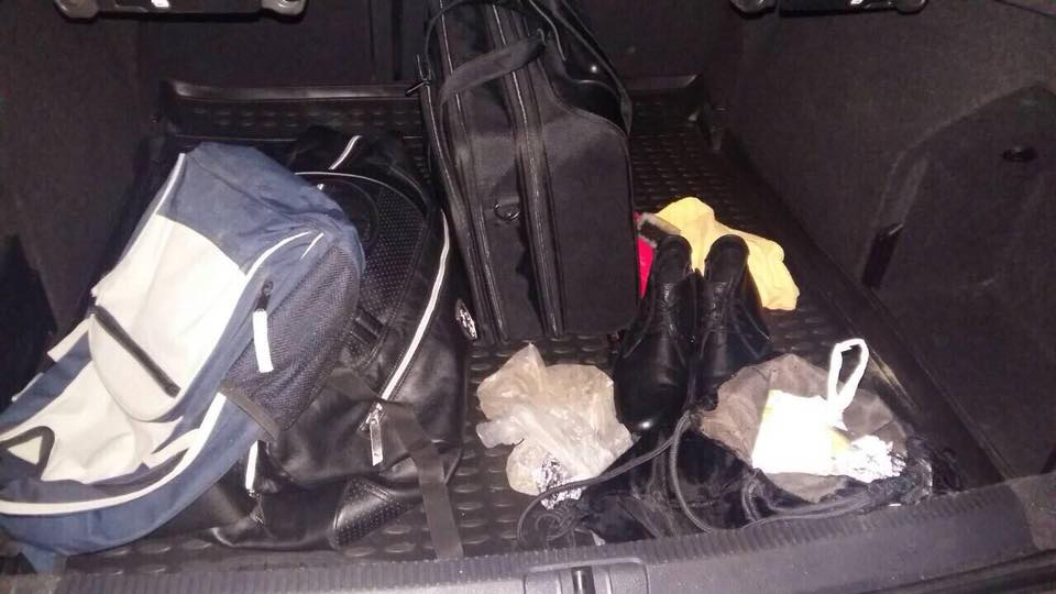12 ноября в багажнике Volkswagen обнаружили рюкзак с взрывчаткой