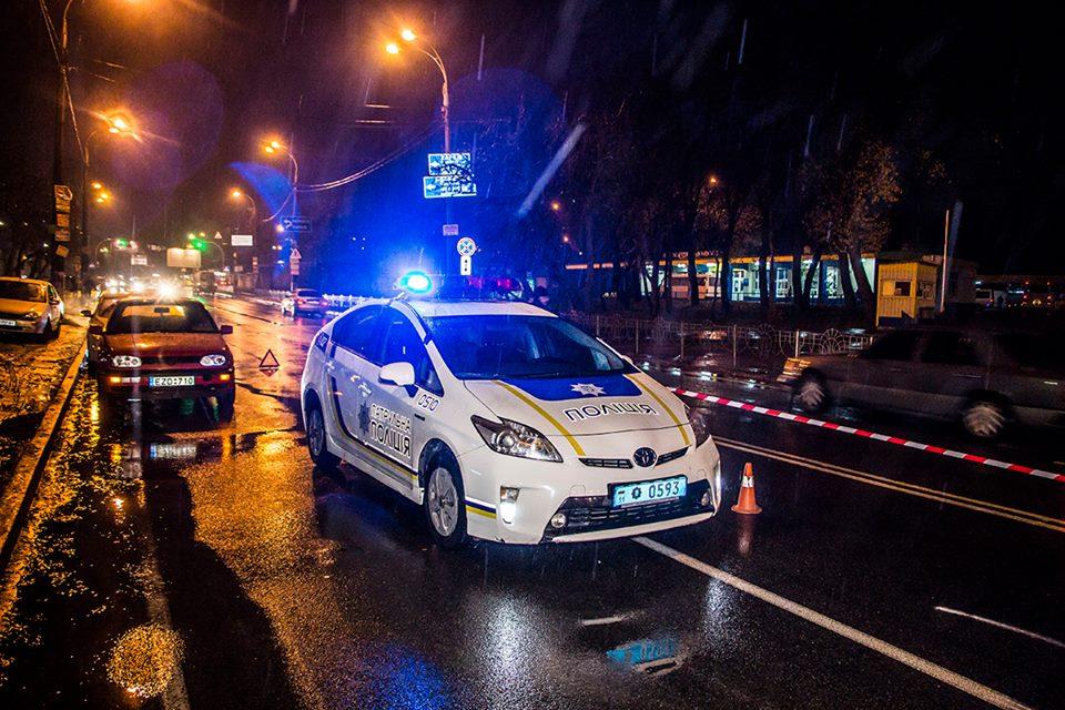 На месте ДТП работали полиция и скорая помощь