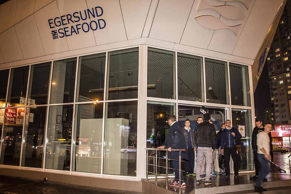 Возгорание произошло в магазине Egersund Seafood