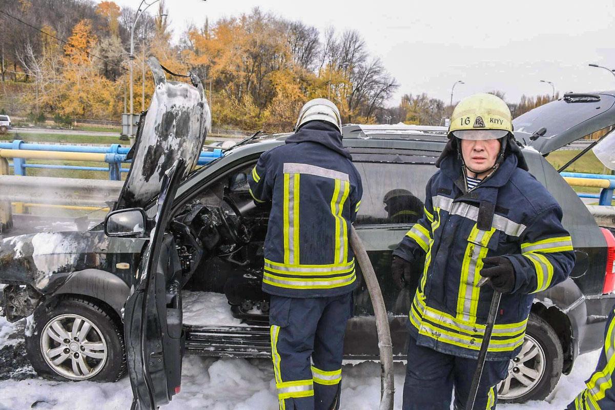 Спасатели потушили возгорание за 20 минут