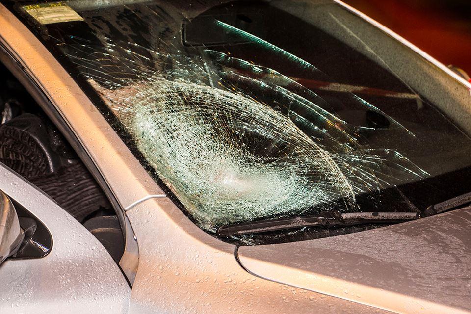Водитель Skoda Octavia не успел затормозить и сбил пешехода