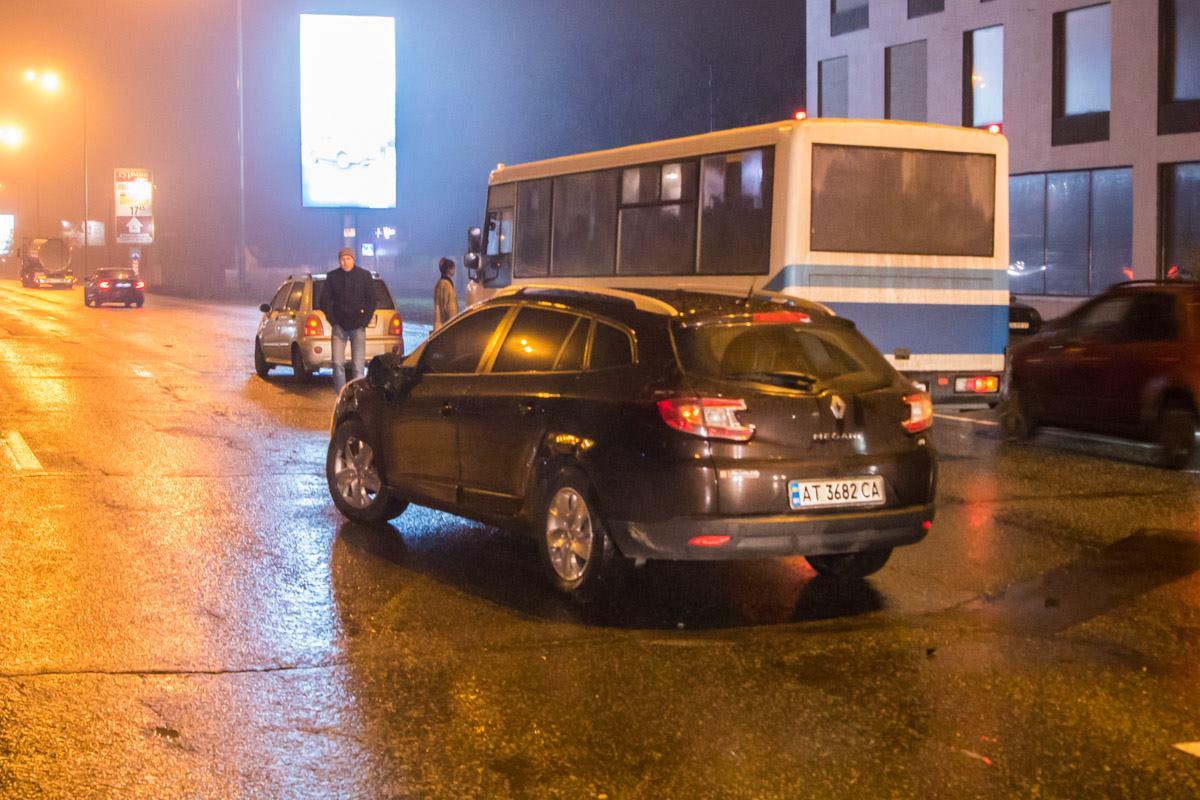 По предварительным данным именно Renault Megane стал виновником ДТП