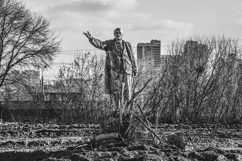 Ленин находится на территории бывшего тепличного хозяйства