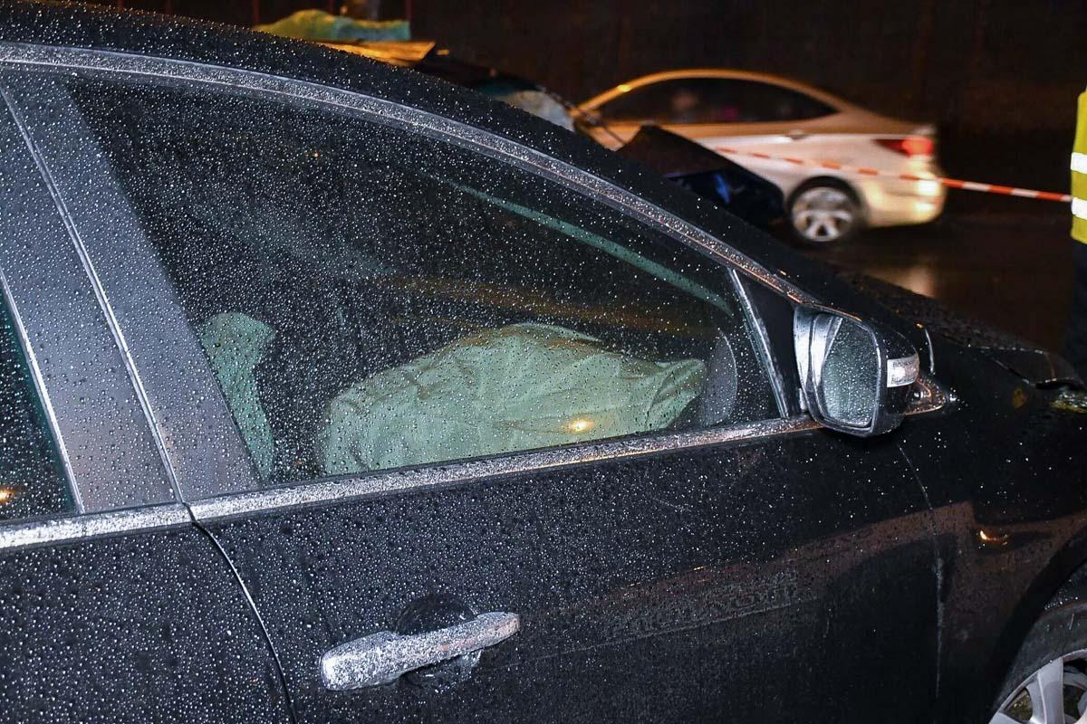 В автомобиле сработала подушка безопасности