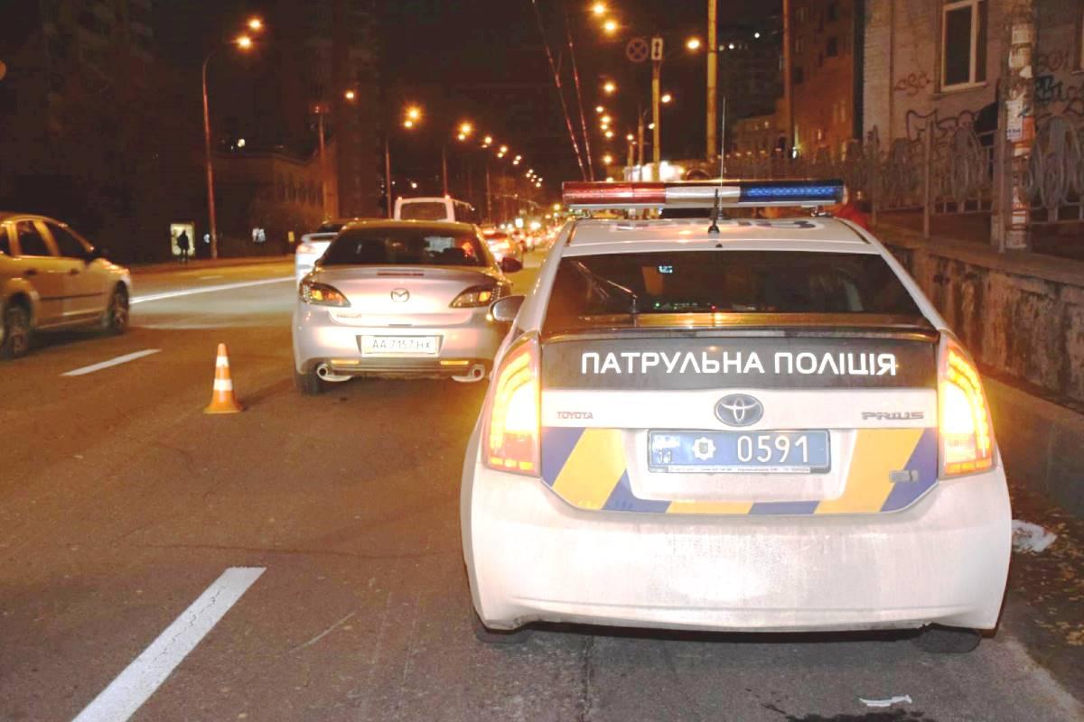 Свидетели сразу рассказали патрульным о ситуации