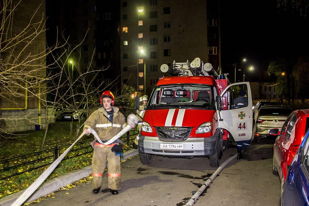 Огонь потушили пожарные