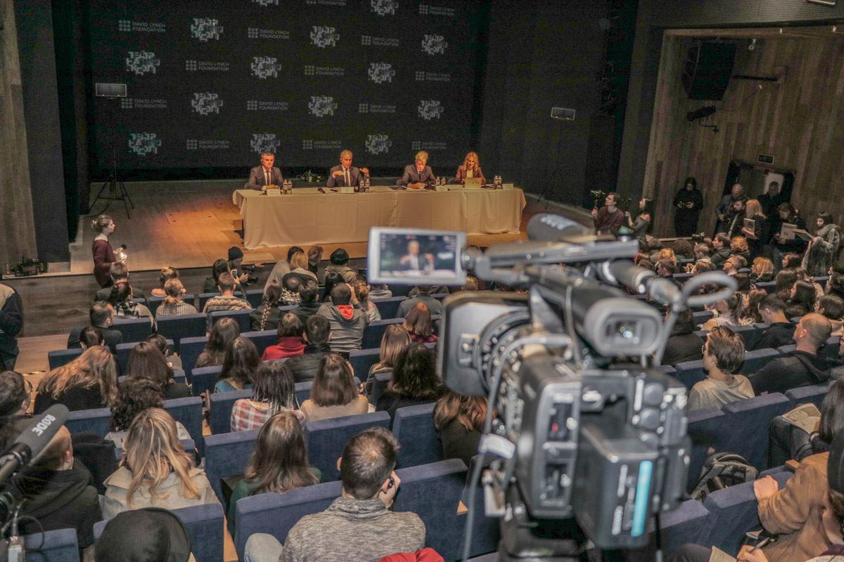 В Киеве Ддэвид Линч анонсировал открытиеукраинского представительства всемирного благотворительного фонда David Lynch Foundation