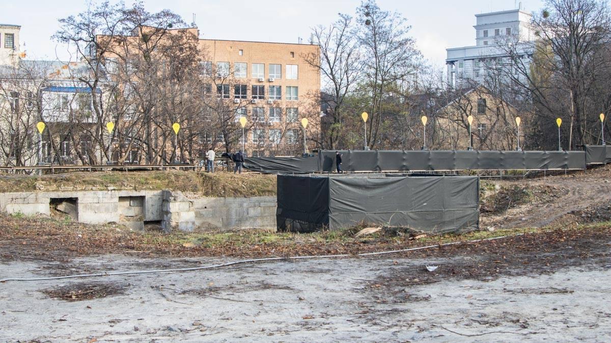 Площадь мемориального комплекса составил 3 гектара