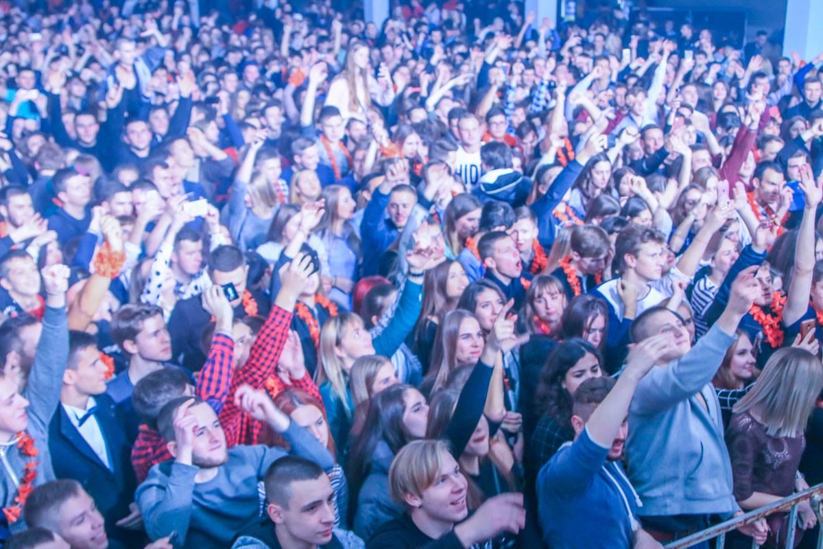 Киевские студенты шумно отметили свой праздник