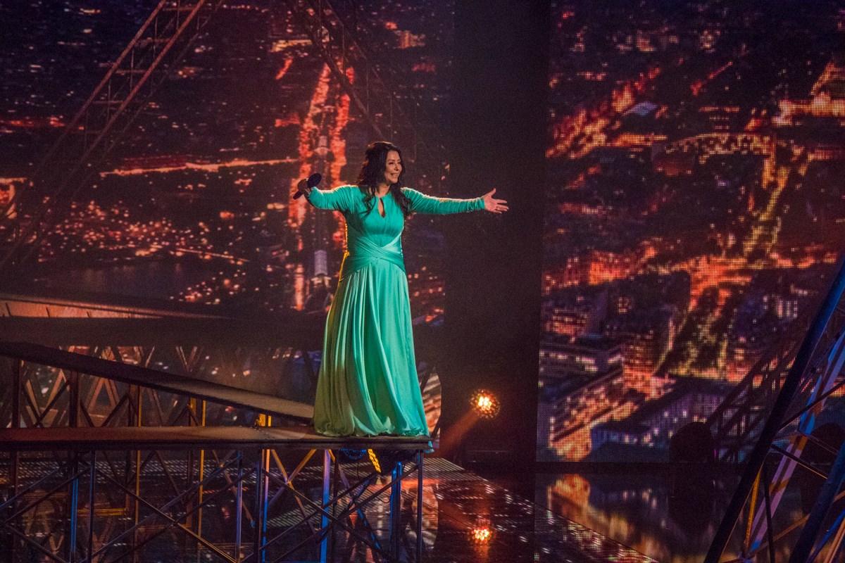 Алена Романовская преодолела страх высоты
