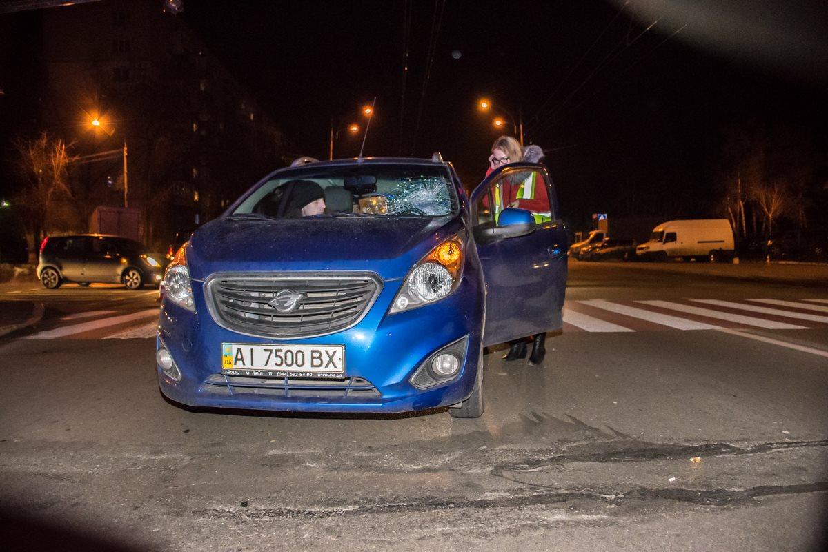 Авария произошла на перекрестке с улиц Жукова иШолом-Алейхема