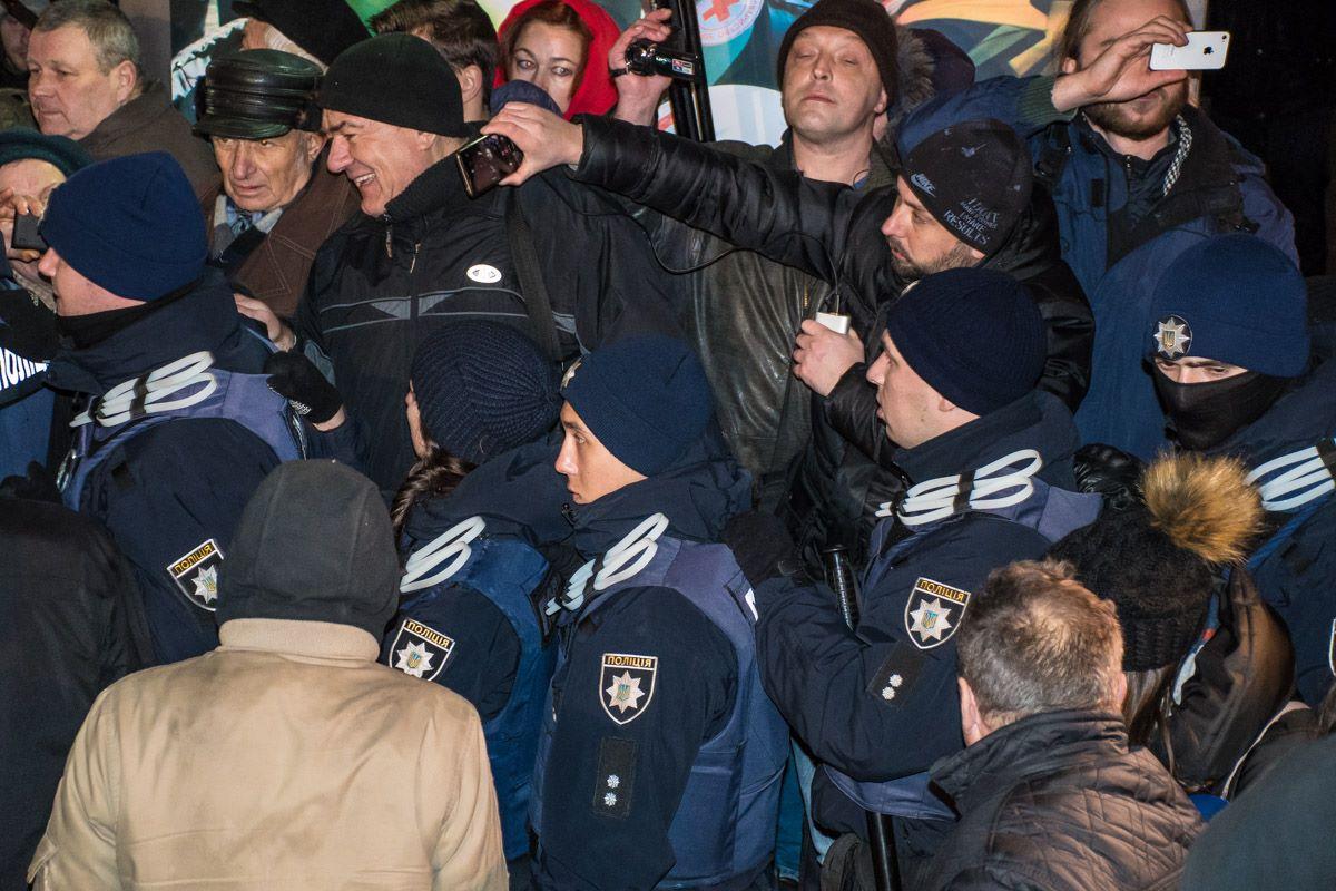 На Майдане произошла драка