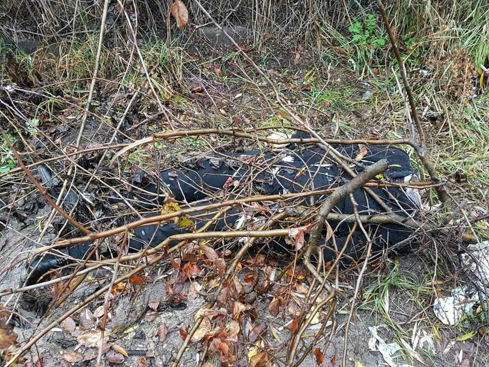 В Киеве на Осокорках нашли обезглавленное тело мужчины в деловом костюме