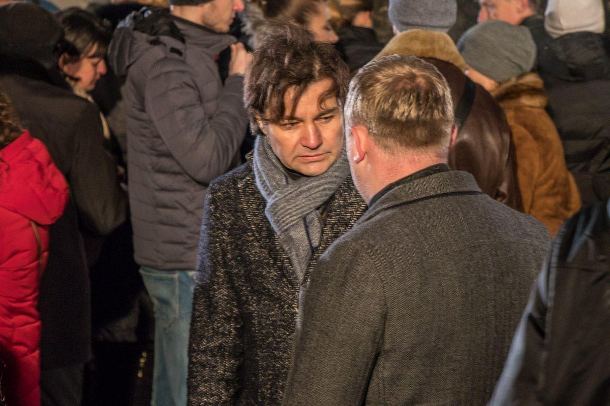Среди присутствующих был министр культуры Евгений Нищук