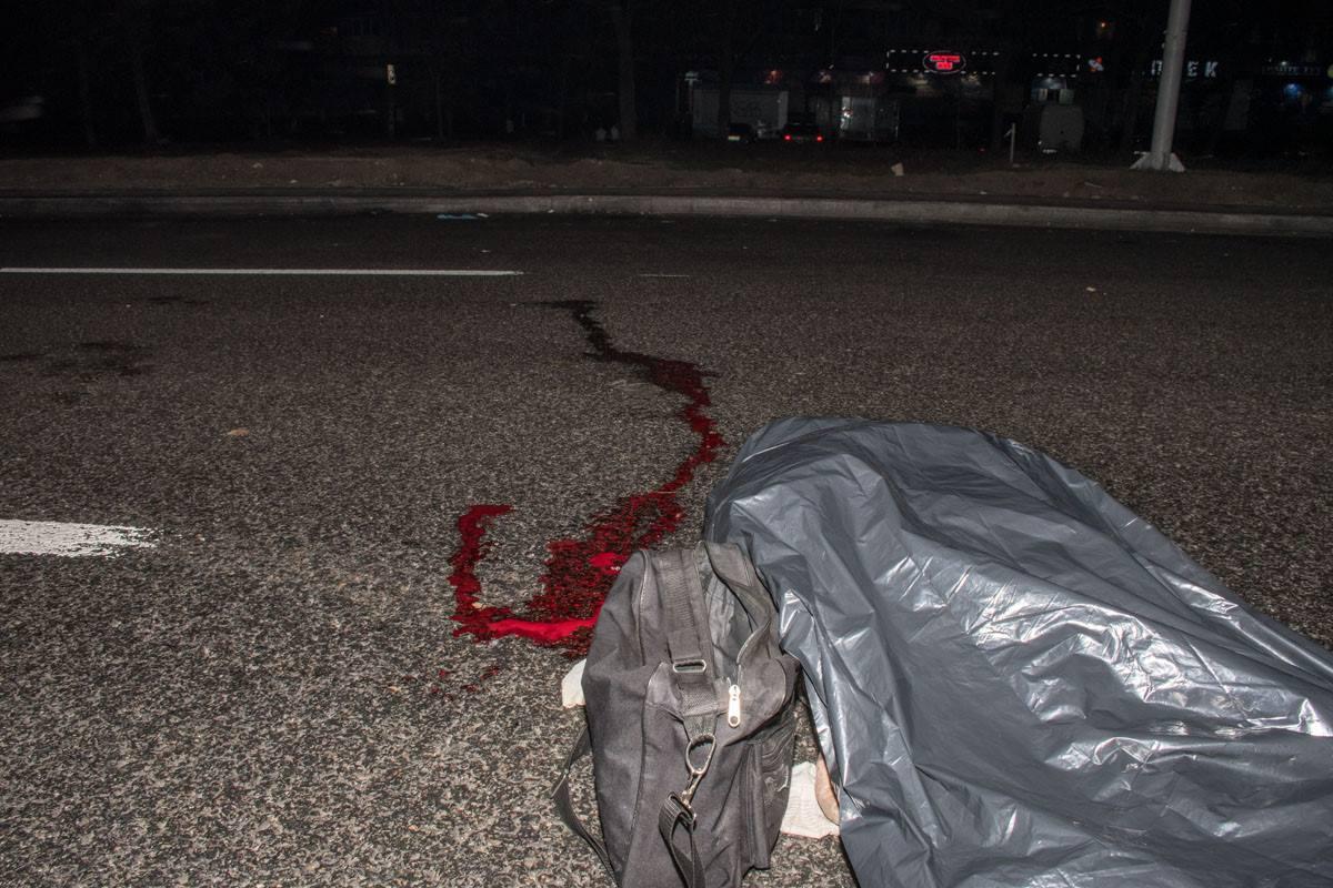 На Большой окружной пешеход погиб под колесами авто